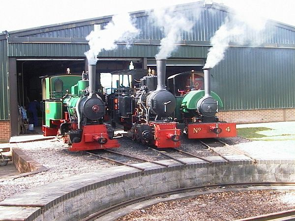 Bredgar and Wormshill Light Railway Engines