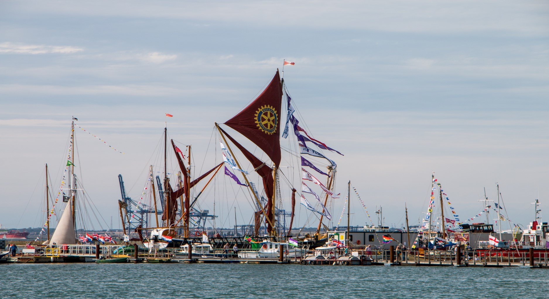 Queenborough Harbour Classic Boat Event