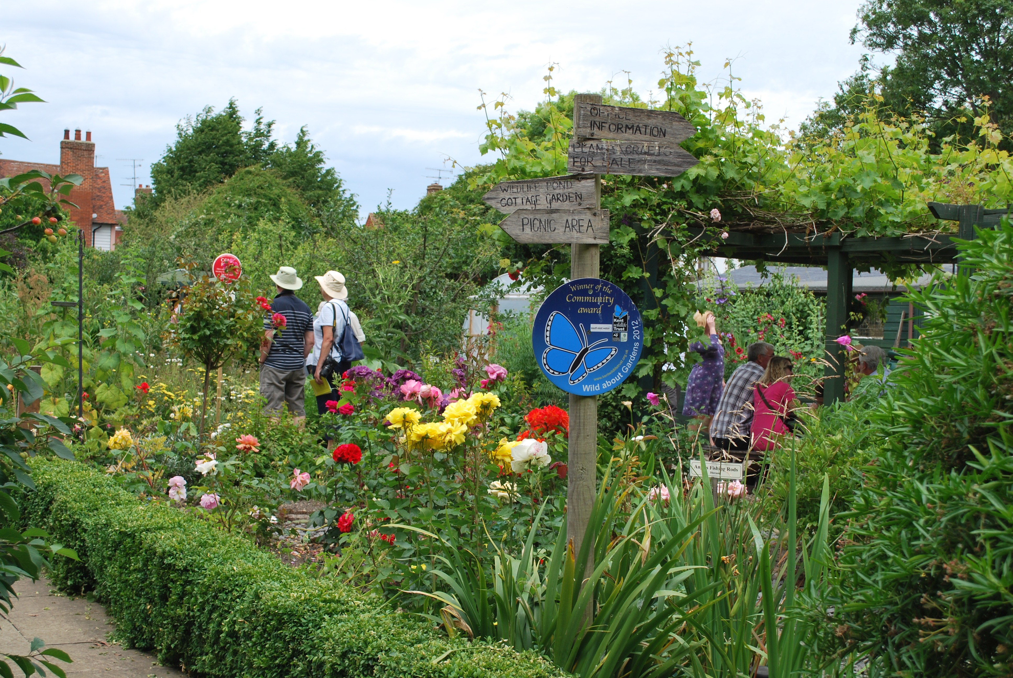 The Abbey Physic Garden Faversham