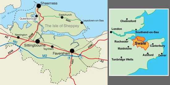 Map Of London England And Surrounding Area.Maps Of Kent Where To Visit Places To Go Visit Swale Visit Swale